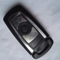3-кнопочная интеллектуальная оболочка дистанционного ключа для BMW 3 5 Новый 7-й серии F X1 X3 X5 Запасные заготовки для ключей FOB + смарт-ключ