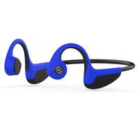 Bluetooth 5.0 S.Wear Z8 سماعات لاسلكية توصيل العظام سماعة الرياضة في الهواء الطلق سماعة مع مايكروفون مع مربع لفون XS ماكس