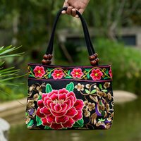 2018 New Ethnic Embroidery Embroidery Bag Embroidered Canvas...