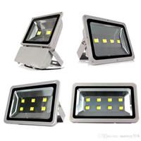 Светодиодный прожектор открытый проект DHL IP65 водонепроницаемый 100 Вт 200 Вт 300 Вт 400 Вт светодиодные лампы прожекторы COB освещение 85-265 в Супер яркие прожекторы