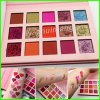 in stock Glitter eyeshadow Palette Makeup 15 Colors Eye Shad...