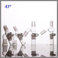 Capteur de verre Fabricant 14mm angle femelle adaptateur mâle complet re ensemble pour l'huile trois parties pour cet ensemble accessoires pour fumeurs