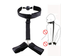 harness nylon belt Sex Toys with ball gag SM Appliances for ...