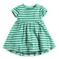 VIDMID 2-7 yıl Bebek Kız elbise kız uzun kollu elbiseler çocuklar prenses t shirt çocuk bluz kedi tavşan çizgili t-shirt