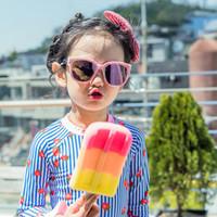 قطعتين ملابس السباحة ملابس أطفال الرضع طفل بنات المايوه الطفل أزياء الاستحمام مجموعة بنات ملابس السباحة الطباعة