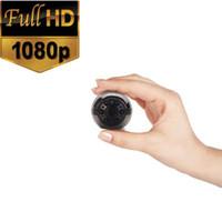 Günstige SQ9 1080 P / 720 P Full HD 6 LED Infrarot Nachtsicht Bewegungserkennung Tragbare Kamera Heimüberwachungskamera