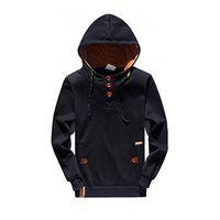 Хип-хоп мужчины спортивная одежда флис толстовка с капюшоном кнопка вверх куртка с капюшоном толстовка пуловер мужской балахон спортивный костюм Мужские толстовки дизайнер кофты