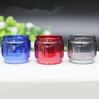 الملونة فات بوي مدد استبدال لمبة أنبوب زجاجي 7 ألوان ل TFV12 الأمير الطفل TFV8 x- طفل vape القلم 22 زائد كبير ل rba خزان dhl