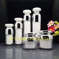 15ml 30ml 50ml 100ml Emulsion Acrylique Vide Essence Pompe à Vide Bouteille 30g 50g Crème De Maquillage Récipient Vide Cosmétique