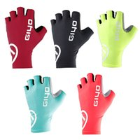 Cycling Gloves Breathable Half Finger Gel Pad Sport Gloves S...