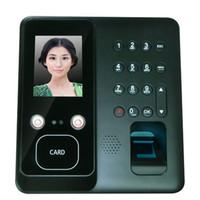 Terminal d'assistance de temps de reconnaissance d'empreinte digitale de visage avec l'algorithme de reconnaissance faciale de l'art Dual HD IR Camera in Dark Light