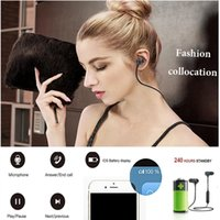 For Iphone 8 X magnetic Bluetooth Sport Earphone Headphones ...