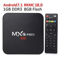 MXQ Pro Android TV Box Rockship RK3229 Quad Core 1GB 8GB Android 7.1 Smart Media Player 4K Wifi IPTV Box Лучше TX3 Pro Mini
