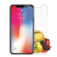 For iPhone 11 Pro Max Tempered Glass For iPhone X XS XR 8 7 ...