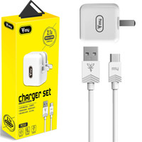 TC11 Travel Wall Charger Set Charger Adapter and USB Cable H...
