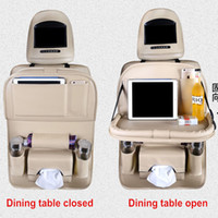 Multi- function Car Tray Storage Chair Back Pocket Hanging Ca...