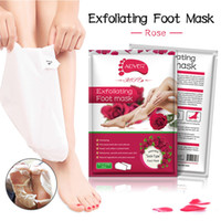 Rose Lavender Chamomi Foot Care Spa Treatments Feet Mask Soc...
