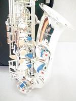 Yüksek kaliteli Japonya Alto Yanagisawa W-037 Eb Gümüş kaplama alto YANAGISAWA saksafon Enstrüman profesyonel performans Ücretsiz