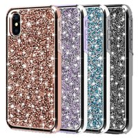 For iPhone XR Case Bling Glitter Rhinestone Diamond Cover Du...