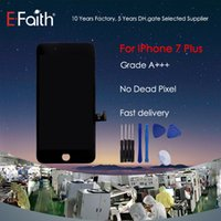 Wholesale- Black Grade A + + + LCD Display Touch Digitizer Fram...