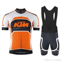 New pro team KTM men Cycling clothing ropa ciclismo hombre s...