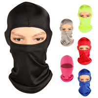 Wholesale- 6 Colors Outdoor Mask Windproof Full Face Neck Co...