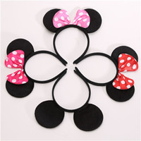 1pc Lovely Girls Bows Knot Ears Baby Hair Accessories Headba...