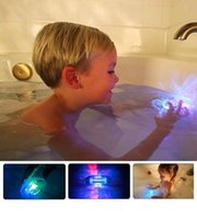 LED Bath Toys Party In The Tub Light Waterproof Funny Bathro...