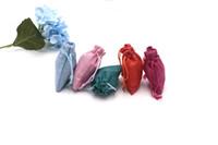 50pcs lot 7*9cm Burlap Bags Festival Favor Linen Bag Small Drawstring Jute Gift Wedding Charms Jewelry Packaging Can Custom