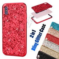 Bling Diamond Glitter Luxury High Quality Fashion 2 in 1 PC ...