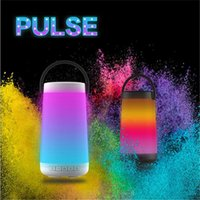 Pulse3 colorful Waterproof LED Portable Bluetooth Speaker Wi...