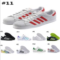 Hot 2018 Fashion mens Casual Shoes Superstar smith stan Fema...