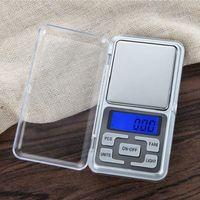 Bilancia tascabile elettronica per display 200gx0.01g Bilancia per gioielli in diamanti Bilancia per bilance Bilancia tascabile digitale con scatola al minuto 1 pz