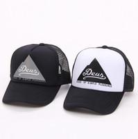 Wholesale skateboard hats for sale - Letter Embroider Ball Cap Deus Letter  Printed Outdoor Sports Skateboard 08822d6b46d