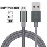 Type C Braided Cable Fast 1M 2M 3M Data Sync Charge Charging...