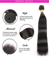 20 inch grade 9a hair brazilian traight hair extention for b...