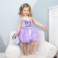 Baby Summer Girl Dress Princess Wedding Party Birthday Tutu ...