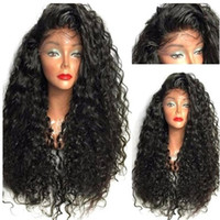 Top Quality Wigs Black Brown Long Kinky Curly Wigs with Baby...