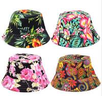 дети цветы ВС бассейна cap 2018 новые цветочные точки солнечный свет досуг дети Рыбак шляпа девушки УФ Солнце защитное ведро шляпа 20 цветов C3006