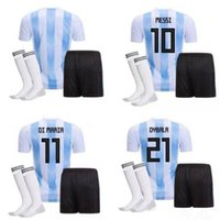 New Argentina World Cup soccer Jersey MEN' S KIT 17 18 M...