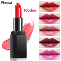 10 Colors New Sexy Women Makeup Lip Stick Long Lasting Nude ...