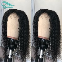 Bythair Lace Front Human Hair Wig Deep Curly Full Lace Wig B...