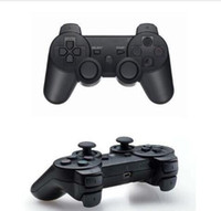 Venta al por mayor Bluetooth Wireless Game Controller para Dualshock Playstation 3 Consola PS3 Videojuegos Joystick Gamepad Retail Box