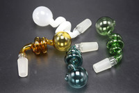 7 Colors Glass Oil Burner Pipe Male Female With 14mm 18mm Jo...