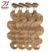 Color 8 Ash Blonde Body Wave Hair Weave Bundles 3 4 Bundles ...