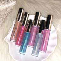 DHL free 2018 newest Handaiyan 6 colors mermaid lip gloss Ou...