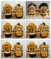 2017 Series Stadium Pittsburgh Penguins Pullover 87 Sidney Crosby 71 Evgeni Malkin Kris Létang Matt Murray Phil Kessel Hockey Pulls