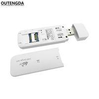 LTE Router 4G Modem SIM-kortdata USB 3G Trådlös bil Broadband Stick Mobil Mini Hotspot / Dongle WiFi FDD