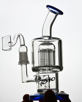 7. 8 Inchs Mini TORO Blue Thick Glass Bong Heady Oil Rigs Gla...