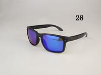 남성 여성 스포츠 선글라스 남성 무광택 검정색 빨간색 서명 9102 패션 편광 태양 안경 폴리 렌즈 원래 상자 55mm 상자에